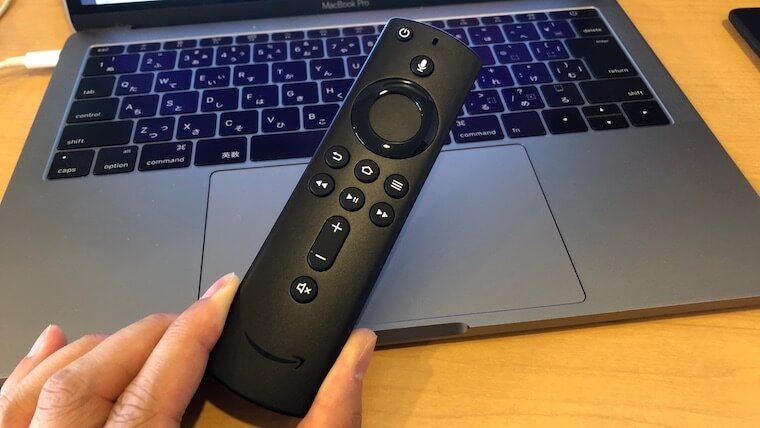 Fire TV Stick:リモコン