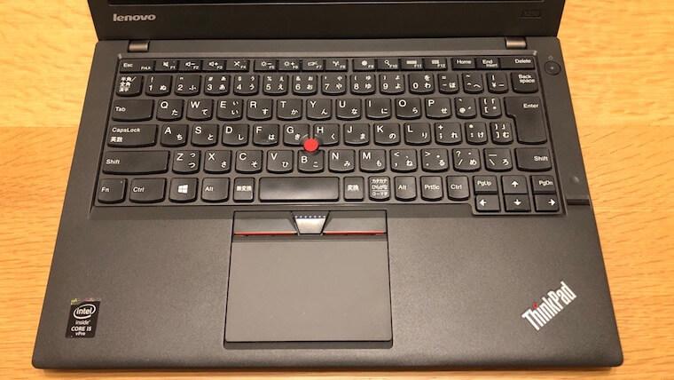 ThinkPad X250:キーボード