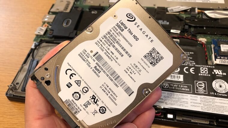 ThinkPad X250:HDD500GB