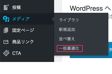 WordPressプラグイン:EWWW Image OptimizerでBulk Optimize(一括最適化)