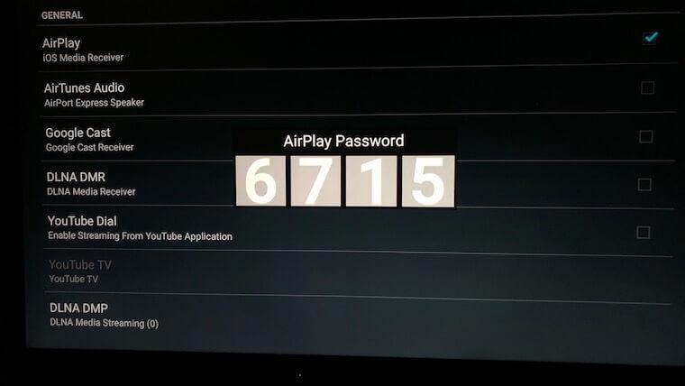 AirReceiver:PINコード
