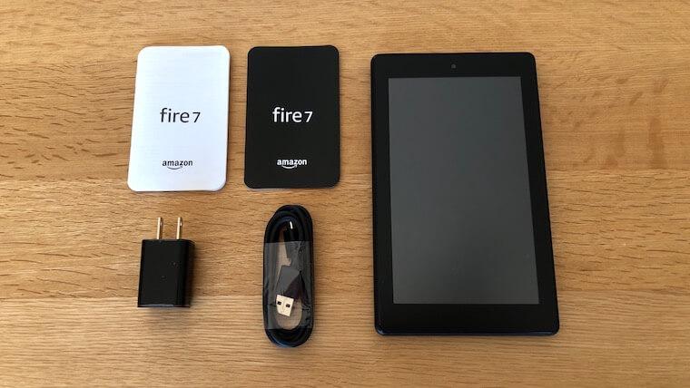 Fire 7(2019):内容物
