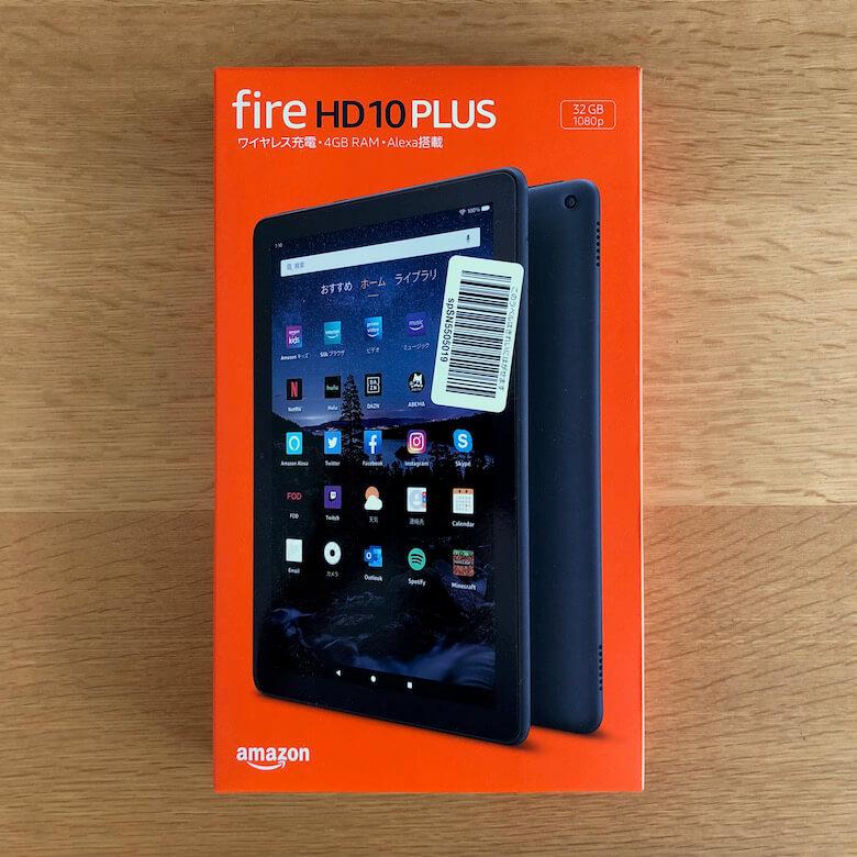 Fire HD 10 Plus:外箱