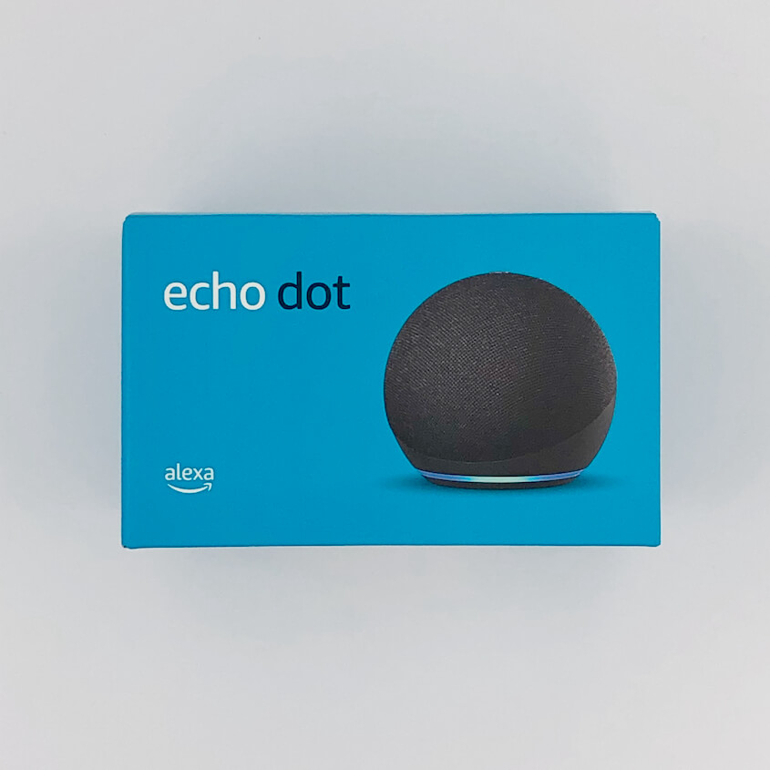 Echo Dot(第4世代):パッケージ(正面)