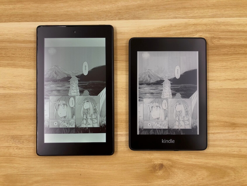 Fire 7とKindle Paperwhite(第10世代)